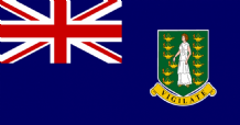 BRITISH VIRGIN ISLANDS - 5 X 3 FLAG